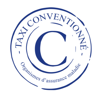 Logo taxi perino conventionne cpam