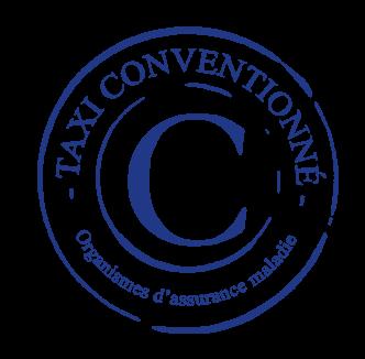 Logo taxi perino conventionne cpam